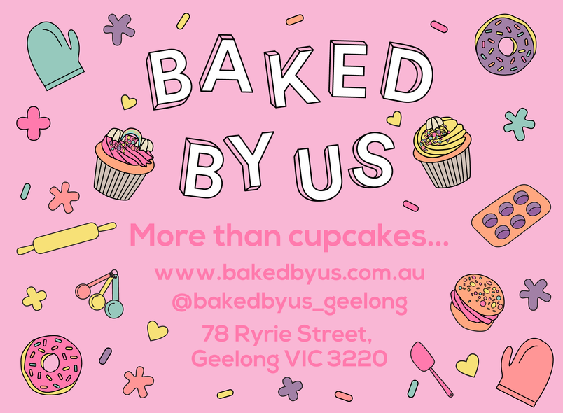 Baked By Us Sticker