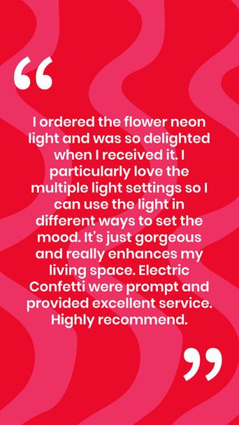 Electric Confetti feedback template