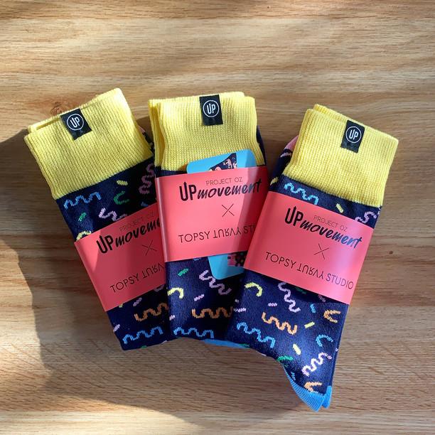 Funfetti Sock Design