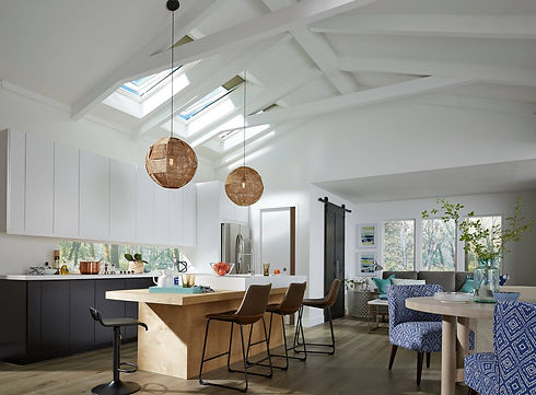 Skylight-replacement-kitchen-white-vault