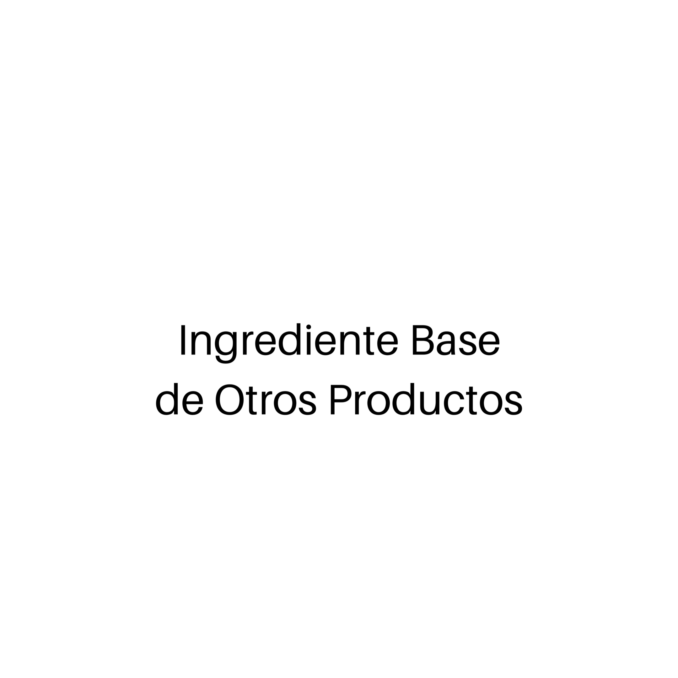 Ingrediente Base