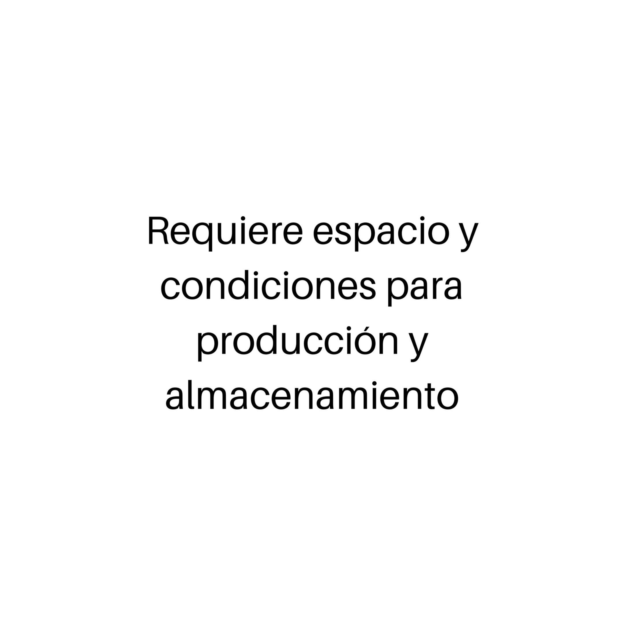 ESPACIO Y CONDICIONES
