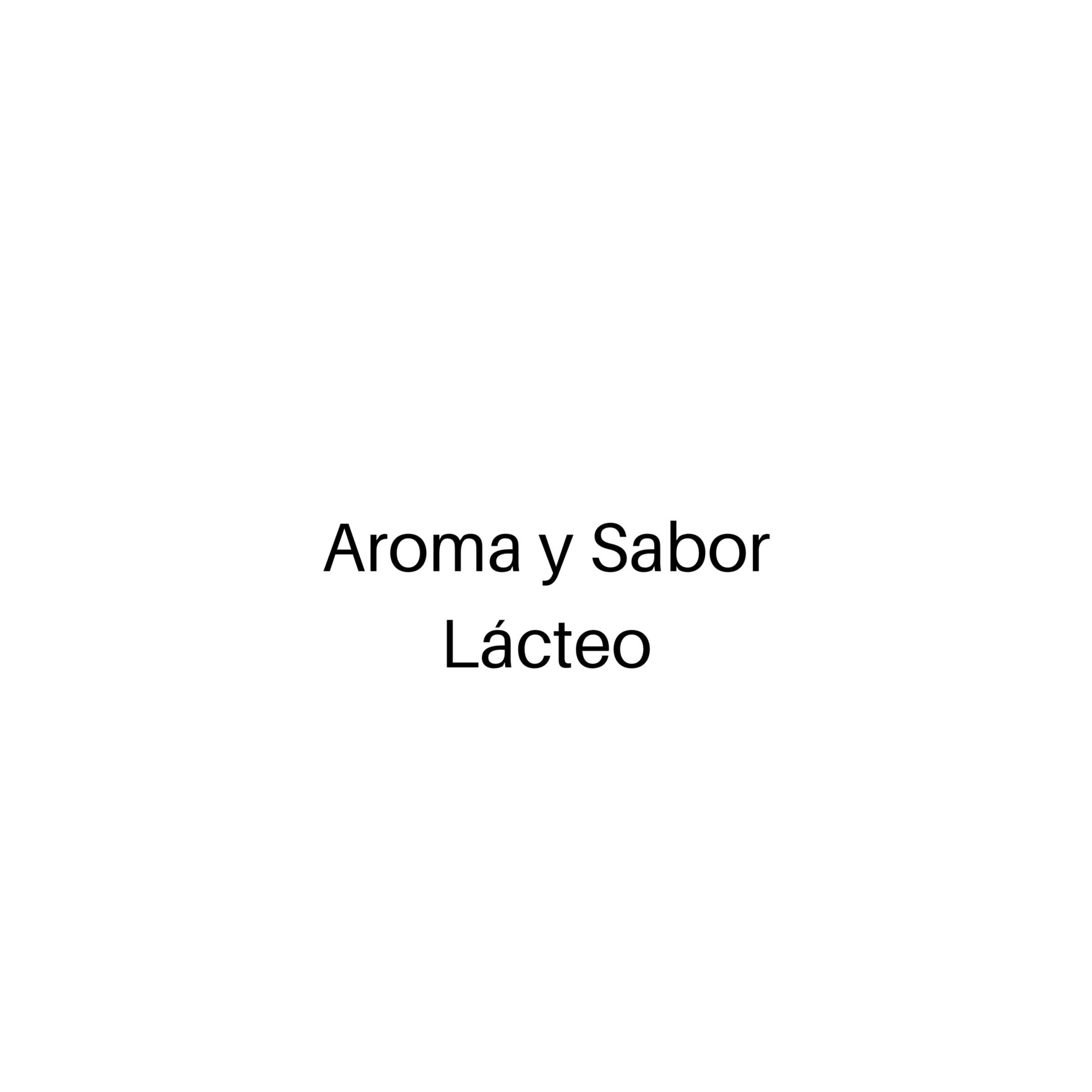 Aroma y Sabor Marcado