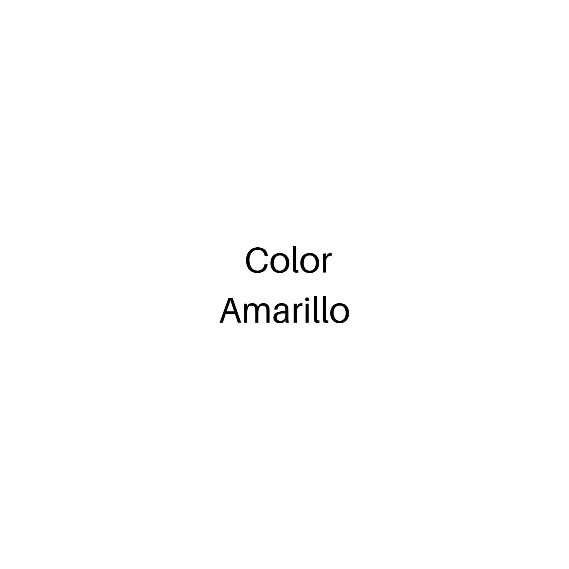 Color Amarillo, se Blanquea con la incor