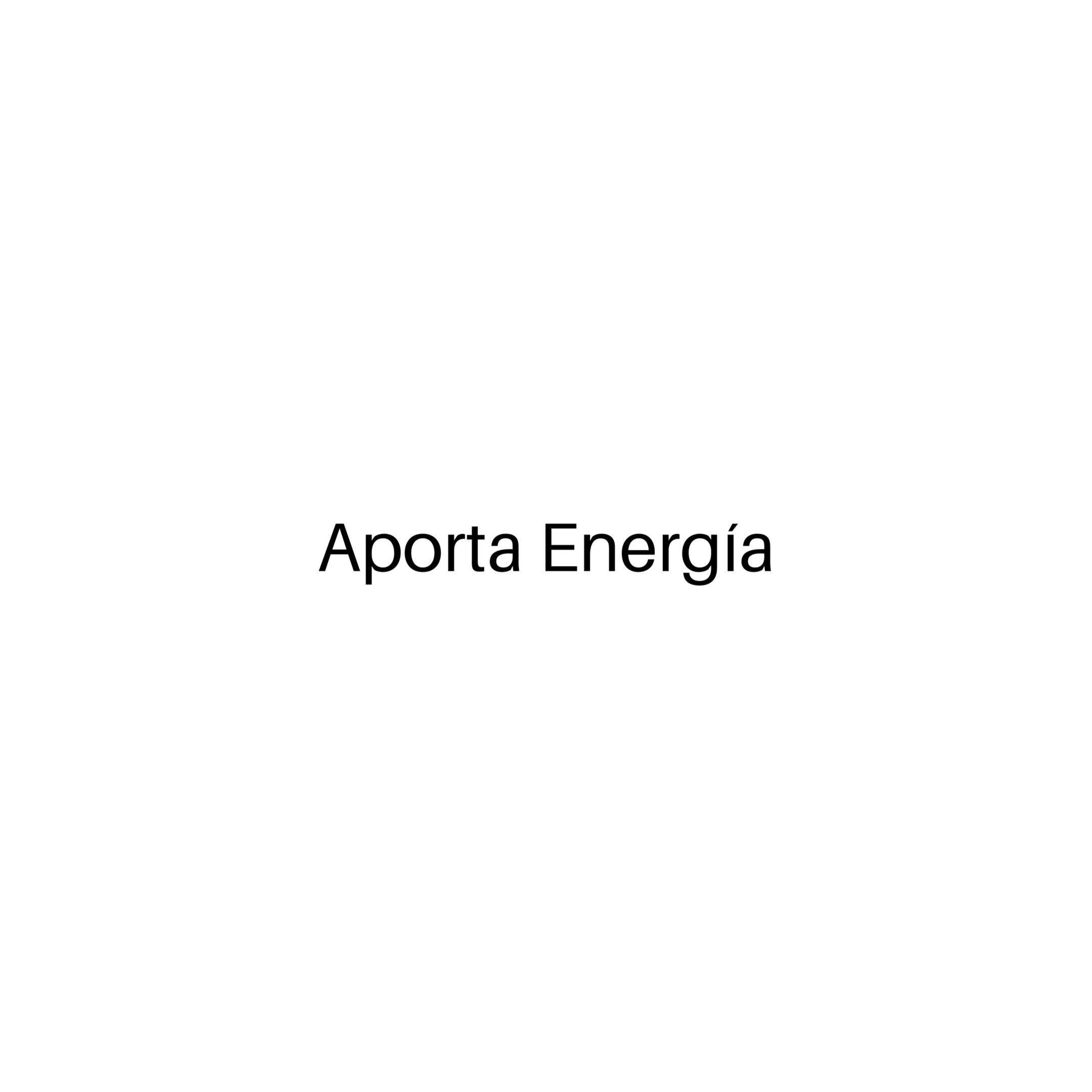 Aporte Energía