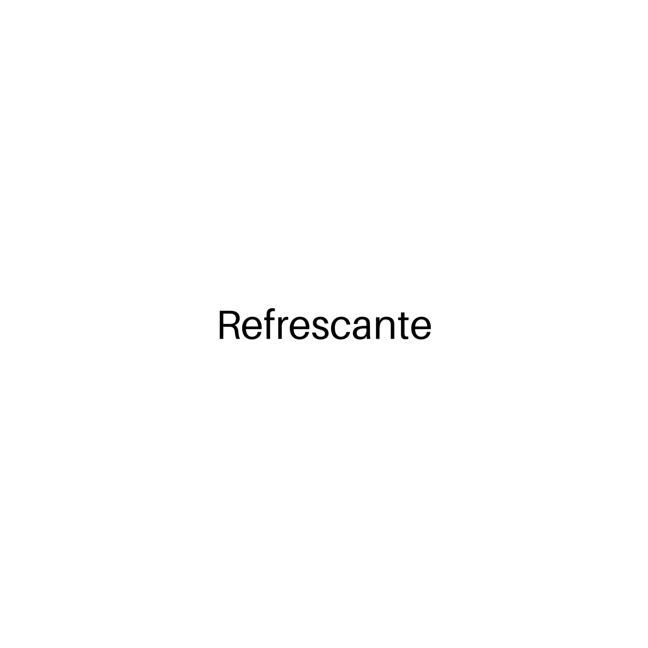 REFRESCANTE