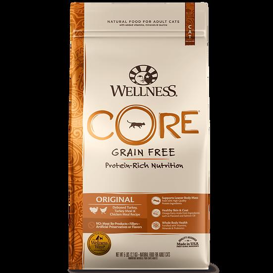 Wellness Core Original: Deboned Turkey, Turkey Meal & Chicken Meal