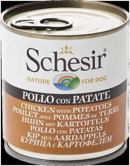 Schesir Chicken with Potatoes (Dog)