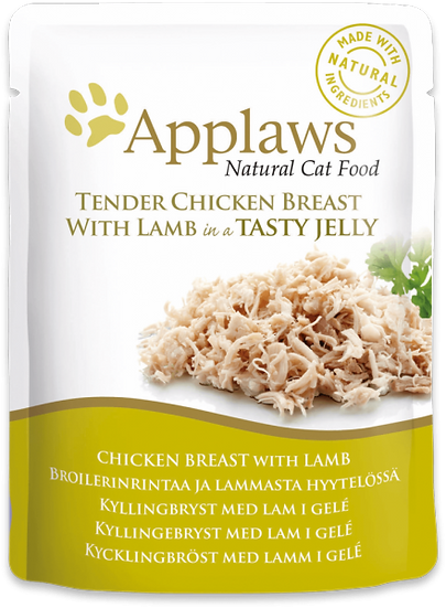 Applaws Chicken with Lamb in Jelly Pouch