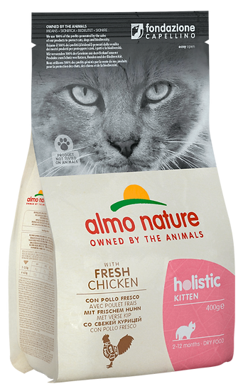 Almo Nature Holistic KittenKitten With Fresh Chicken