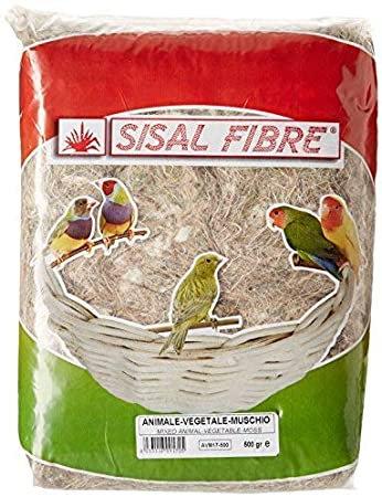 Sisal Fibre Mixed Animal Vegetable 500g