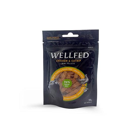 Wellfed Mini Fillets Chicken & Catnip