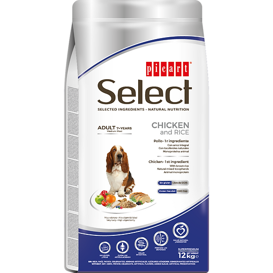 Picart Select ADULT 7+ YEARS Chicken and Rice