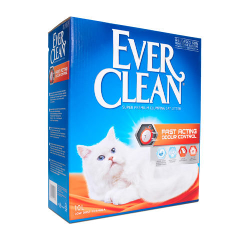 Ever Clean Cat Litter Fast Acting Odour Control 10L