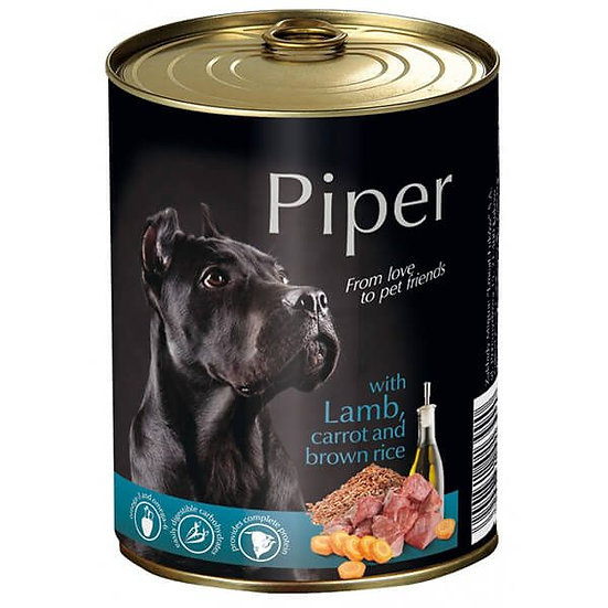 Piper with Lamb, Carrot and Brown Rice Can (400g)