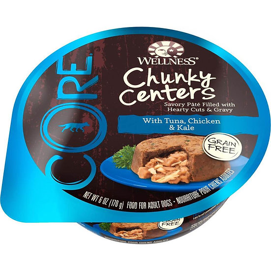 Wellness Core Chunky Centers Flavoured With Tuna, Chicken & Kale