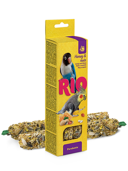 RIO Sticks for parakeets with honey and nuts