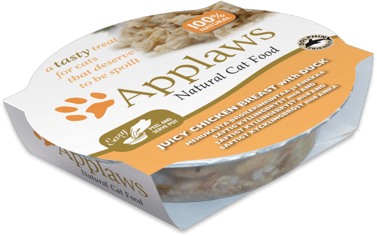 Applaws Chicken Breast with Duck – 60g Pot