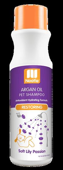 Nootie Restoring Argan Oil Shampoo – Soft Lily Passion