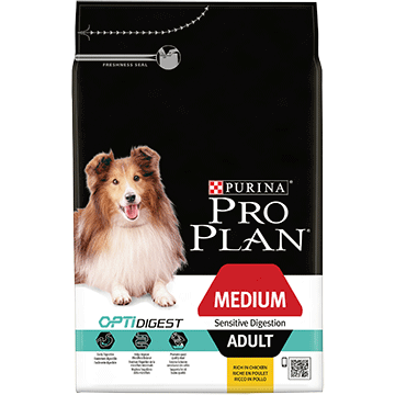 PRO PLAN® Medium Adult Sensitive Digestion with OPTIDIGEST® Rich in lamb