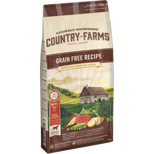 Country Farms Adult Grain Free Recipe Beef