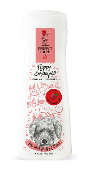 Perfect Care Strawberry Pulp Shampoo For All Puppies