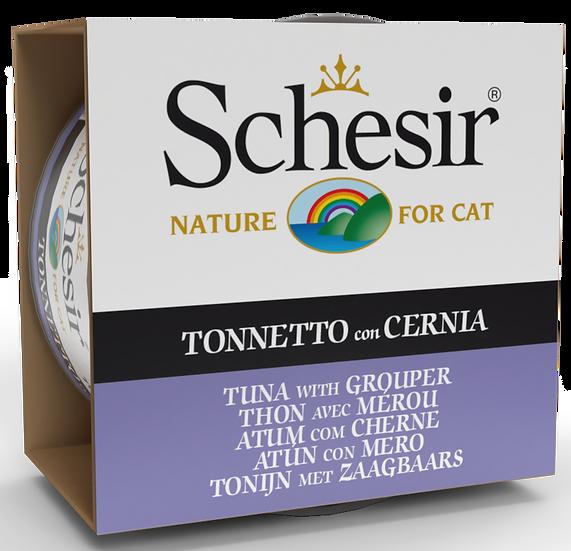 Schesir Tuna with Grouper (Cat)