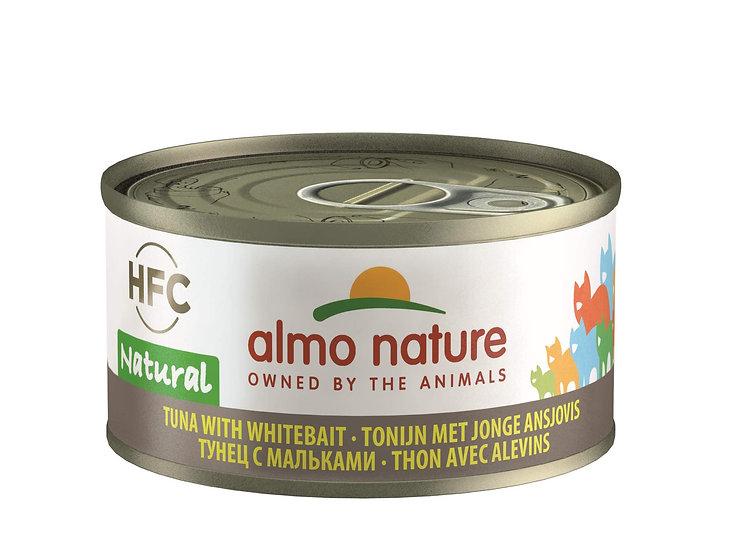 Almo Nature Tuna with WhitebaitHFC Natural