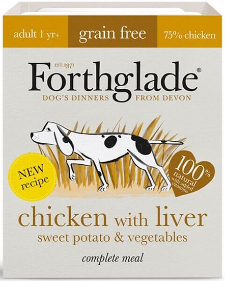 Forthglade Chicken & Liver with sweet potato & vegetables