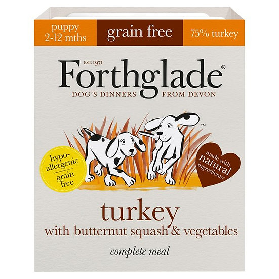 Forthglade Turkey with butternut squash & vegetables