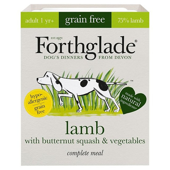 Forthglade Lamb with butternut squash & vegetables