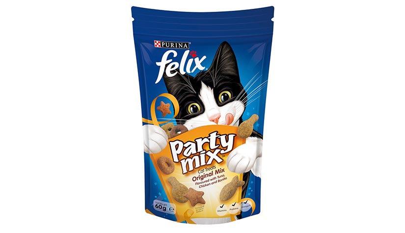 Purina Felix Party Mix Original Mix Cat Treats