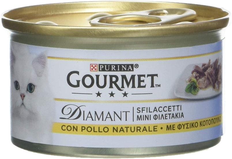 Purina Gourmet Diamant sfilaccetti with Chicken