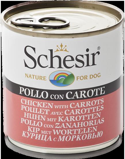Schesir Chicken with Carrots (Dog)