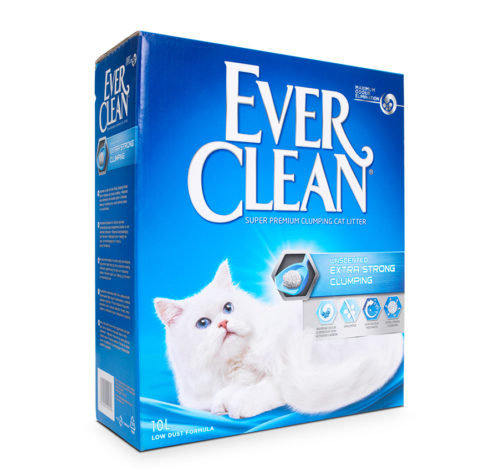 Ever Clean Cat Litter Extra Strong Clumping Unscented 10L