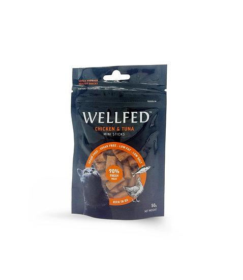 Wellfed Mini Sticks Chicken & Tuna