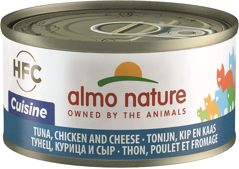 Almo Nature Tuna, Chicken and Cheese HFC Cuisine
