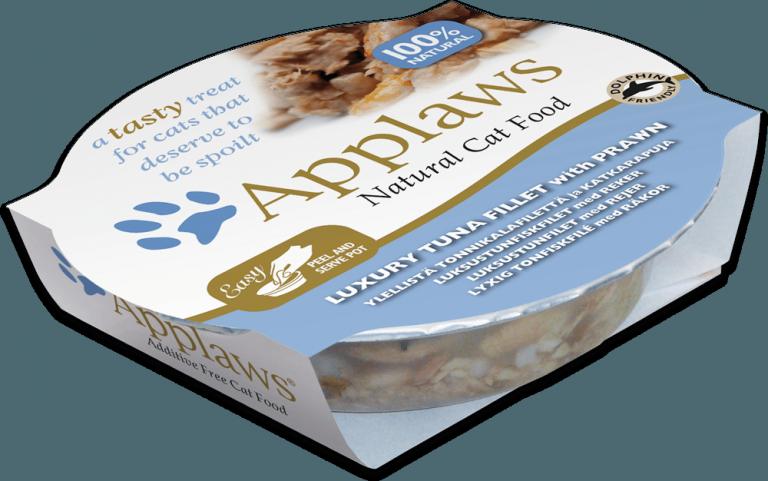 Applaws Tuna Fillet with Prawn- 60 g Pot