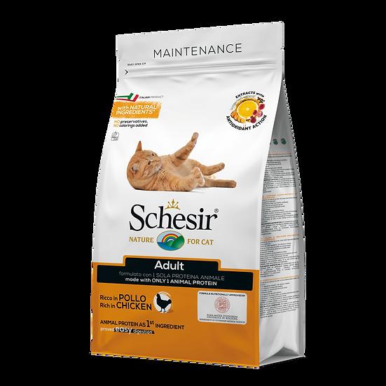Schesir Cat Dry Food Maintenance with Chicken (400g)
