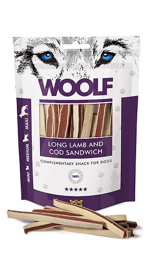 Woolf Snack Long Lamb and Cod Sandwich