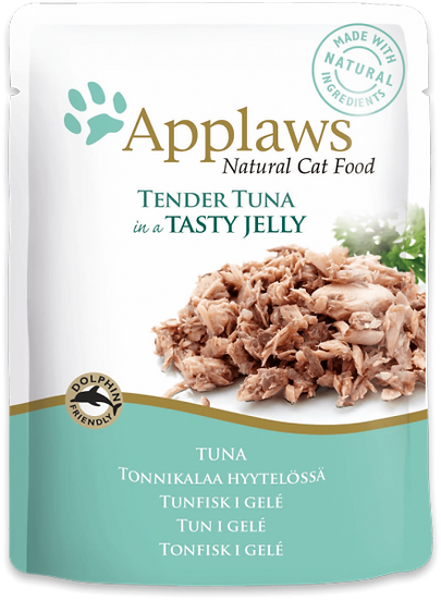 Applaws Tuna Wholemeat in Jelly Pouch