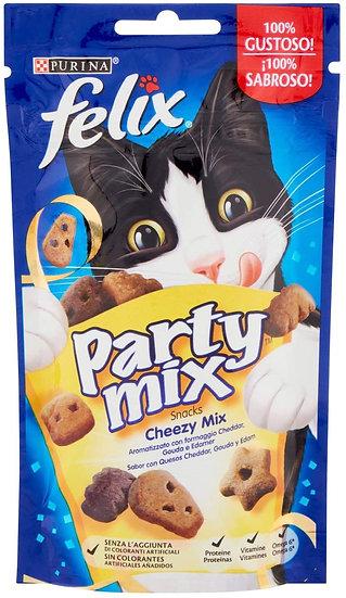 Purina Felix Party Mix Cheezy Mix Cat Treats