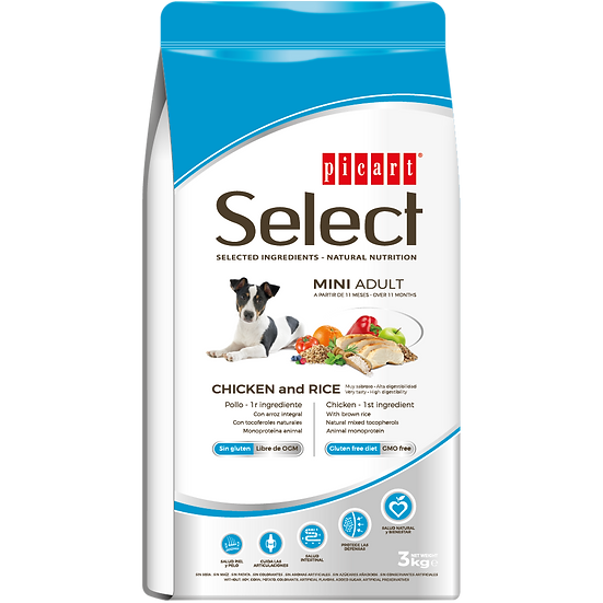 Picart Select MINI ADULT Chicken and Rice