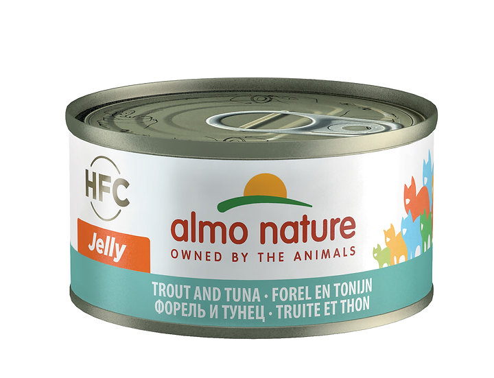 Almo Nature Trout and Tuna Jelly