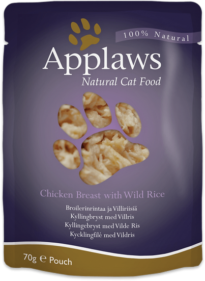 Applaws Chicken with Rice in Broth – 70g Pouch