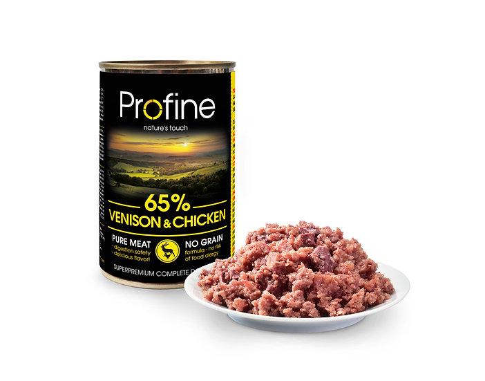 Profine 65% VENISON & CHICKEN