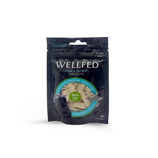 Wellfed Mini Fillets Fish&Catnip