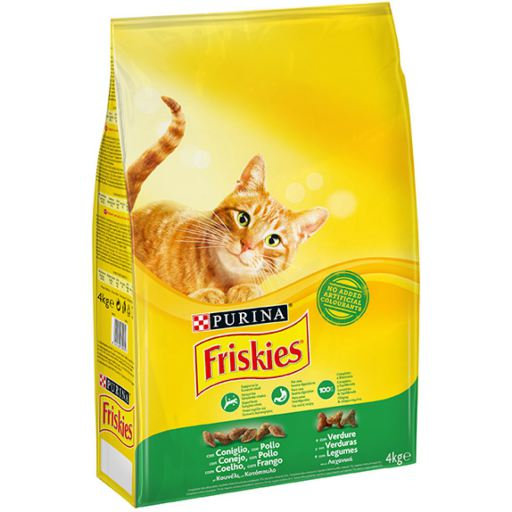 Purina Friskies Cat Dry Food Rabbit with Chicken and Vegetables 20 Kg
