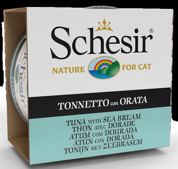 Schesir Tuna with Sea Bream (Cat)