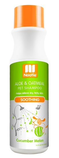 Nootie Soothing Aloe & Oatmeal Shampoo – Cucumber Melon
